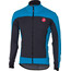 Castelli Mortirolo 4 Jacket Men anthracite/sky blue
